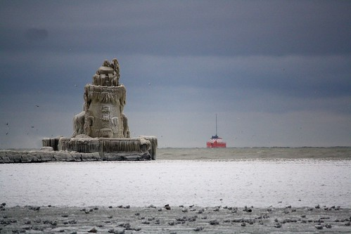360/365: The Frozen Lighthouse Of Cleveland