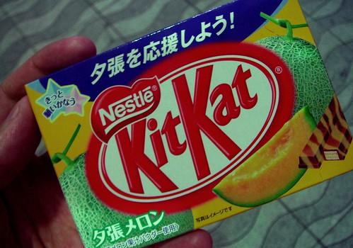 Kit Kat de melon de Yubari
