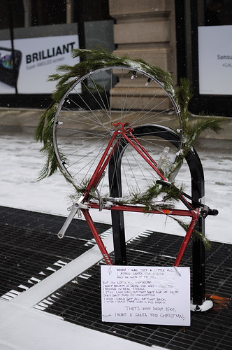 Christmas ornament of Biker