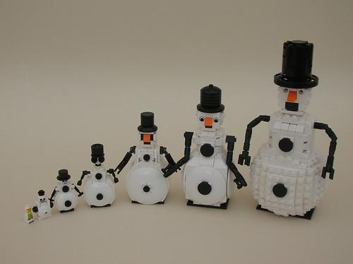 Snowmen Spread
