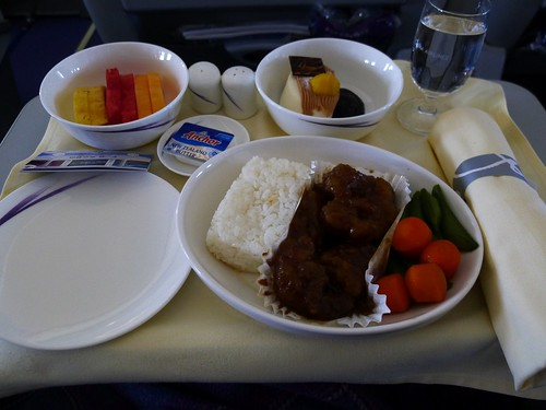 深圳軟件教學行@華航商務艙餐點