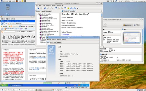 VirtualBox 4.0.0 on Fedora 14