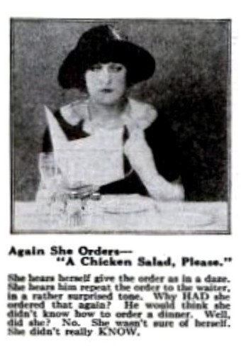 Chicken Salad More Eichler Etiquette Pop Sci Jan 1924