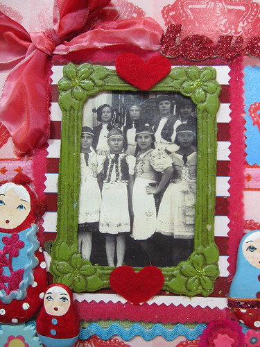 Matryoshka Scrapbook Layout! 5