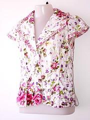 Blusa (Zizi Anil) Tags: moda estilo blazer chita roupa saia blusa roupas casaco saias vesturio