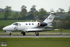 G-FBLI - 510-0130 - Private - Cessna 510 Citation Mustang - Luton - 100429 - Steven Gray - IMG_0592