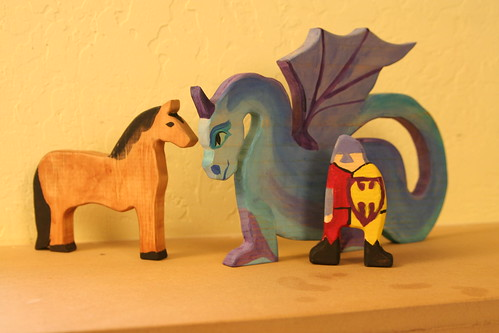 Christmas Projects: Horse, Dragon, and Knight