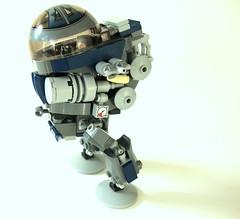 LEGO  Biped Artillery Mech (aabbee 150) Tags: lego artillery mech biped