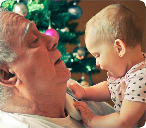 Abuelo y Maya