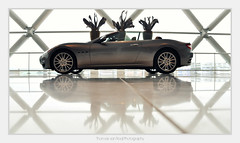 Maserati GranCabrio (Thomas van Rooij) Tags: lighting light reflection cars netherlands car architecture reflections photography italian nikon utrecht power thomas profile fast convertible automotive exotic nikkor supercar dealership maserati buidling cardealer cabriolet 18105 d90 hessing rooij grancabrio thomasvanrooij
