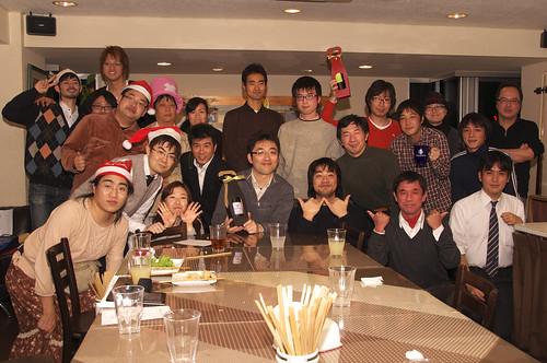 WordBench 関東クリスマスパーティ 2010 集合写真
