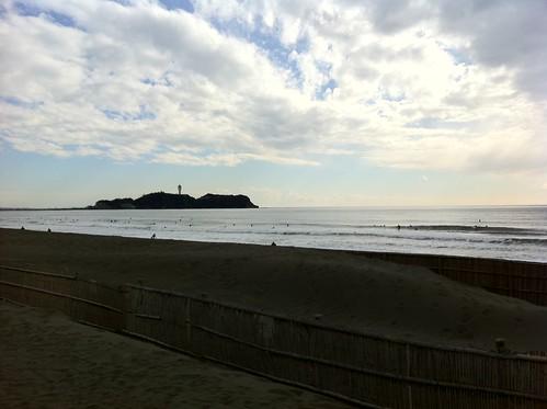 2011年1月1日の江ノ島