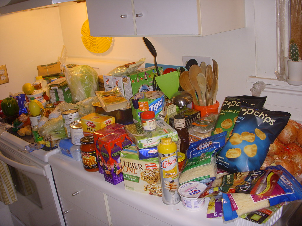 january 2011- the groceries.