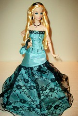 Naughty  and  Nice (napudollworld) Tags: winter sleeping holiday beauty wearing fashion french frost king alice entrance barbie grand disney kong quarter carter gown bryant 2009 royalty mattel