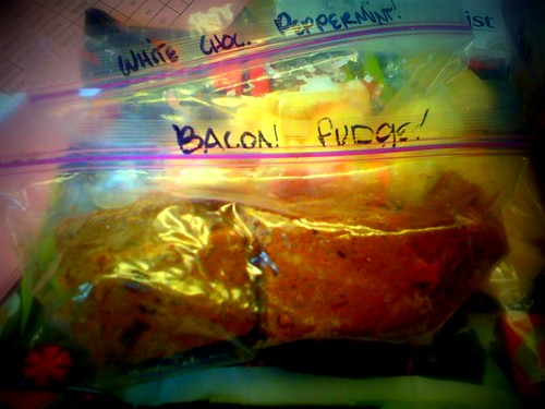 Bacon fudge