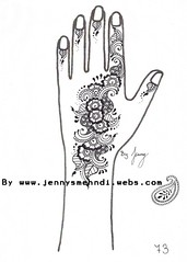 Hennadesign Nr.73HP (Jenny's Mehndi) Tags: india art tattoo indian arabic arab bollywood oriental henna mehendi mehndi shahrukhkhan heena arabisch hindustani mehandi hindustan orientalisch