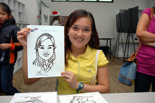 Caricature live sketching for Snow City - Day 5 - 2