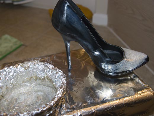 DIY GlitterShoes5
