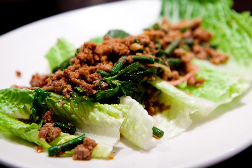 Spicy Duck Laab Salad