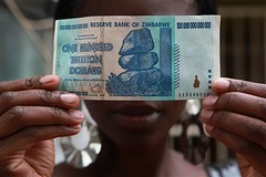 Zimbabwe 100 Trillion Banknote