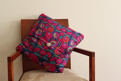 Kaffe Fassett Love - Cushion #2 made by mum - Verso