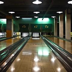 Bowling (Magic Pea) Tags: light green london square photography photo pins shoreditch bowling spitalfields eastlondon magicpea