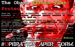 The Obama Ethics Plan: Protect Whistleblowers. Courage and Patriotism can sometimes LIE. Wallpaper (1920x1200)