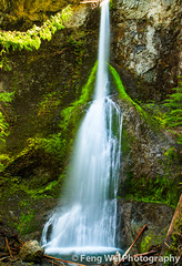 Marymere Falls, Olympic National Park (Feng Wei Photography) Tags: travel summer wallpaper vacation usa color nature beautiful beauty landscape flow waterfall washington nationalpark scenery colorful natural pacific northwest outdoor smooth scenic peaceful hike clean serene olympic wilderness olympicnationalpark picturesque cascade attraction silky secluded marymere marymerefalls