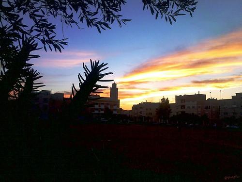Sunset Berkane غروب بركان