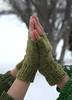 knucks (duckyhouse) Tags: green wool olive rowan tweed knucks