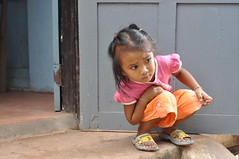 On The Outside Looking In (_Codename_) Tags: locals sandals pooh winniethepooh laos luangprabang 2010 childrensculturalcentre