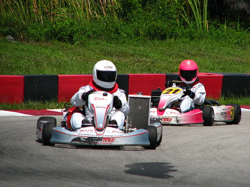 Palm Beach International Raceway (PBIR) - Go Karting Race Track Practice - Jupiter, FL