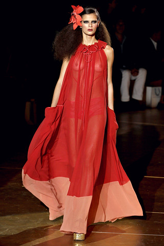 marc jacobs red dress