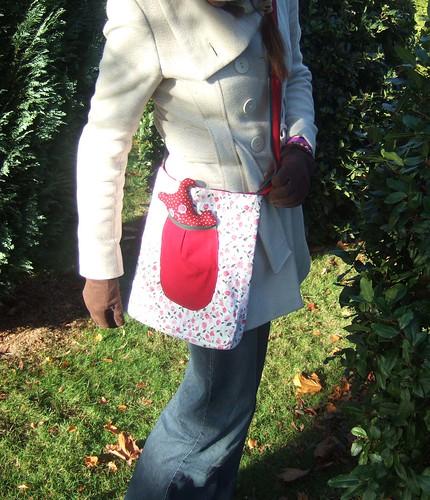 rosebud critter bag