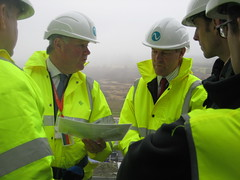 Charles Hendry visits new Power Station site