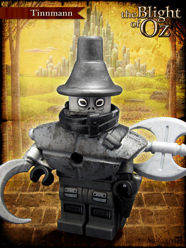 Custom minifig The Blight of Oz - Tinnmann