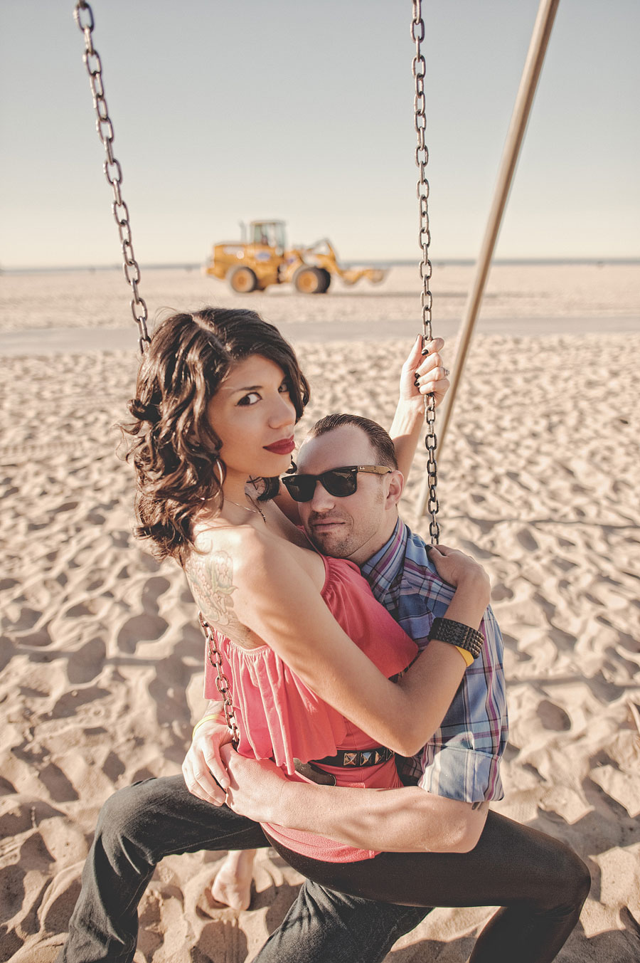 Santa Monica Pier Engagement photos, Los Angeles Wedding Photographer 010