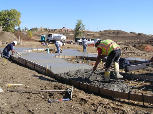 Photo - Valmont City Park construction