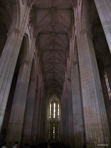 Nave of the Gothic church