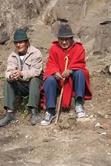 Just hanging out (karore) Tags: lake ecuador hike chugchilan volcaniclake quilatoa