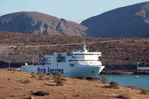 La Paz - Baja Ferries in Port