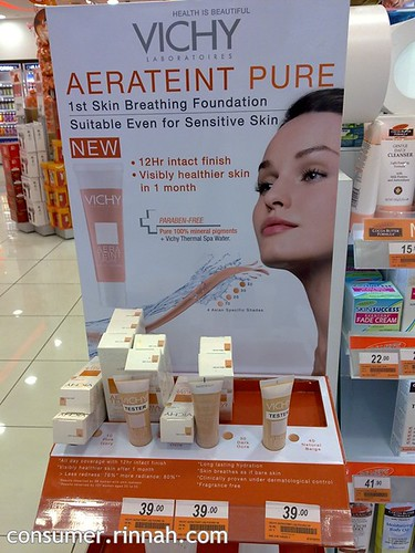 vichy aerateint pure foundation
