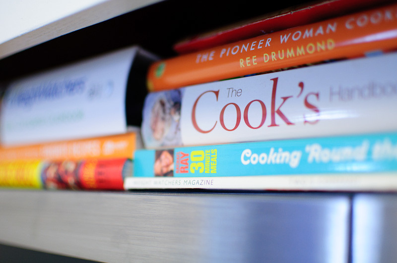 Cook Book Piles