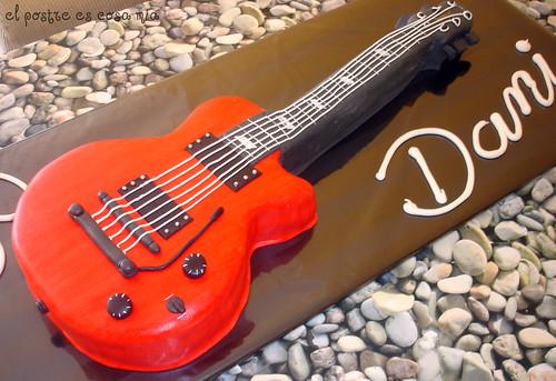 Tarta guitarra electrica