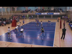 Women's College Volleyball VIDEO Sherbrooke Rouge Et Or VS Universit de Montral Carabins, Sony A55, Montreal, 16 January 2011 (6) (proacguy1) Tags: montreal sonya55 womenscollegevolleyballvideosherbrookerougeetorvsuniversitdemontralcarabins 16january2011