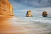 Coastal Landscape :: Gibsons Steps (-yury-) Tags: ocean sea sky seascape beach water landscape sand bravo rocks steps australia victoria gibsons greatoceanroad clifs