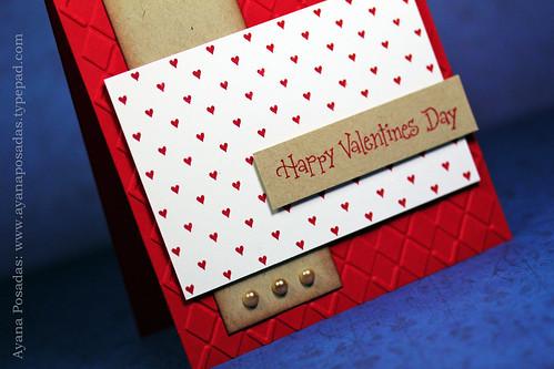 Happy Valentine's Day Sketch CloseUp