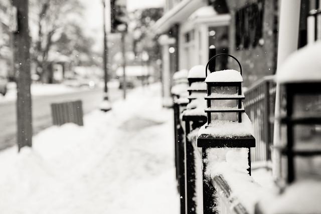 Snowy Gate [EOS 5DMK2 | EF 24-105L@105mm | 1/640 s | f/6.3 | ISO200]
