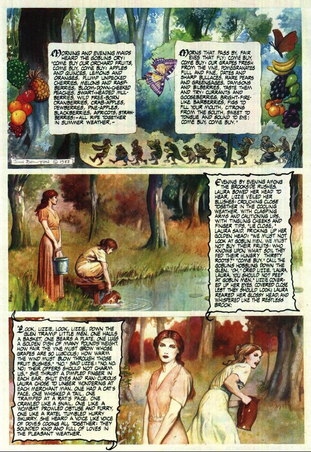 The Goblin Market (Novela grafica) 5365250884_369d677180_b