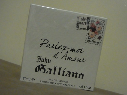 john galliano parlez-moi d. John Galliano Parlez-moi d#39;